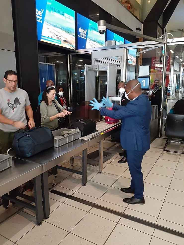 First Coronavirus case in South Africa