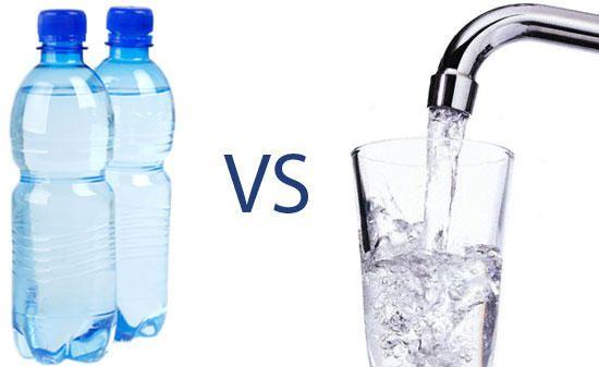 Bottle water vs Tap Water in BCM